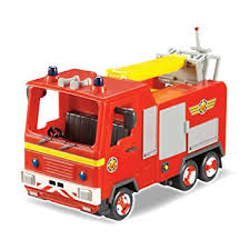 fireman sam jupiter vehicle character amazon uk toys u0026 games