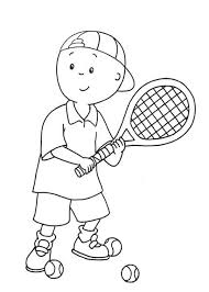 caillou gilbert coloring pages free printable caillou