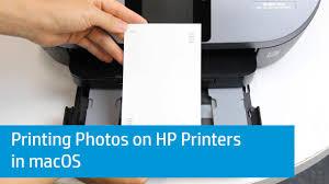 hp printers how to print photos mac hp customer support