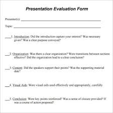 5 course menu template speaker evaluation form