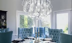 Dining Chair Slipcovers Dining Room Gratify Baby Blue Dining Room Chairs Intrigue