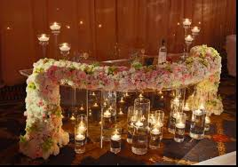Sweetheart Table Decorations Sweetheart Table Decoration Ideas Brilliant Bride And Groom