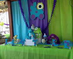 Baby Boy Shower Centerpieces by Monsters Inc Baby Shower Centerpiece Baby Pinterest Baby