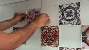 ceramic kitchen doors tile backsplash ideas roosters remove decals