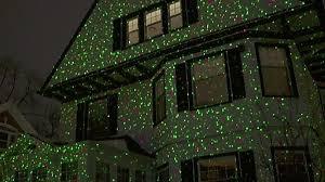 starburst laser light projector green