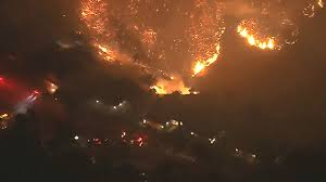 Auburn California Wildfire by Mandatory Evacuations Ordered As S California Fire Spreads Kxly