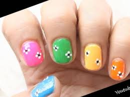 29 easy nail art designs youtube stylepics