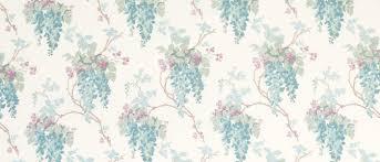 wisteria duck egg pistachio floral curtain fabric laura ashley