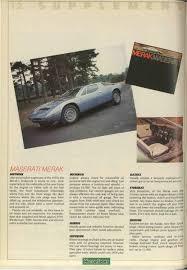 maserati merak engine maserati merak motor sport magazine archive