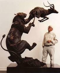 lioness sculpture sculptureworks inc