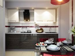 kitchen minimalist white black modern office kitchen dining