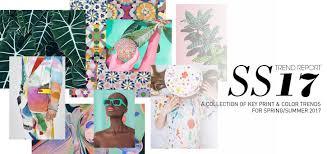 spring color trends 2017 fashion vignette trends pattern people print color trend
