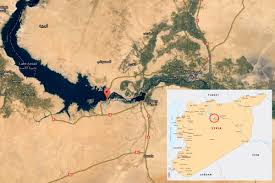 Raqqa Syria Map by Russia Syria Rage Against Isis To Take Back The Dam