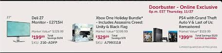 dell black friday dell black friday ad offers ps4 with the last of us and grand