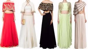 cape designs designer cape top lehenga designs 2017 wear