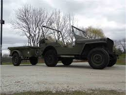 jeep utility trailer 1945 willys mb jeep u0026 mbt trailer for sale classiccars com cc