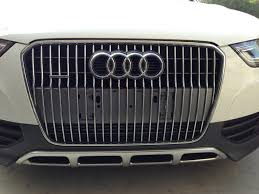 audi q7 front license plate bracket remove front plate filler on 2013 allroad
