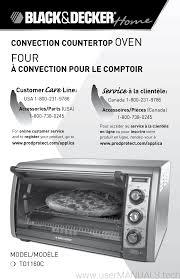 Black Decker 6 Slice Toaster Oven Black And Decker 6 Slice Toaster Oven To1160c User Manual