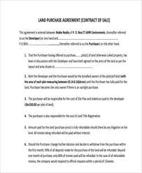 land purchase agreement installment land purchase agreement form