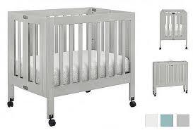 Grey Mini Crib Mdb Origami Mini Crib Grey Kido Baby Junior Your
