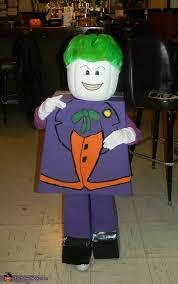 Kids Lego Halloween Costume Joker Costume