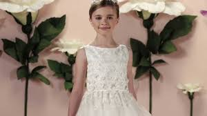 joan calabrese communion dresses joan calabrese designer communion dress with lace overlay