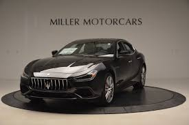 ghibli maserati interior 2018 maserati ghibli sq4 gransport stock m1940 for sale near