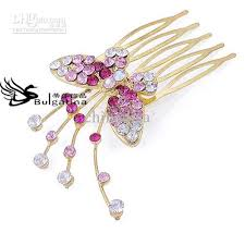 decorative hair pins 2017 decorative hair pins with shining colorful rhinestone