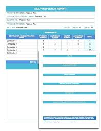daily inspection report template template schedule daily daily inspection report template daily
