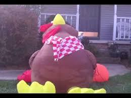turkey inflatables airblown turkey by gemmy