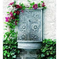wall ideas diy water wall fountain outdoor wall fountains