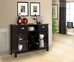 wine rack console table design modern table design