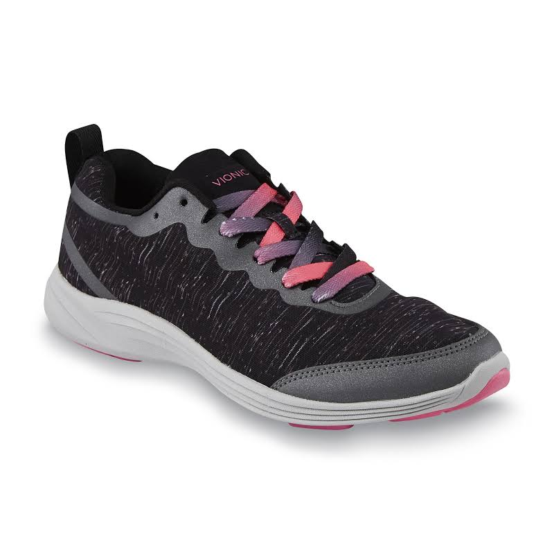 Vionic Agile Fyn Black Running Shoes
