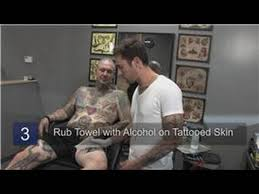 body art how to remove a temporary tattoo youtube