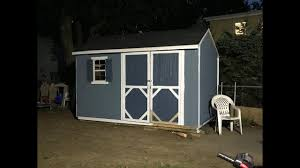 Home Depot Storage Sheds 8x10 by Heartland 8x10 Shed Lowes Youtube