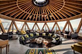 Yurt Interior Floor Plans by Skylab Architecture