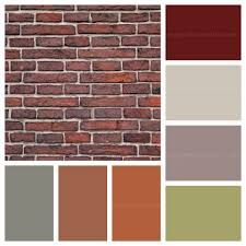 decor u0026 tips color pallets for brick with color palette ideas and