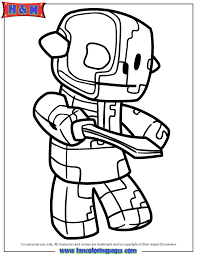 zombie pigman from the nether coloring page h u0026 m coloring pages