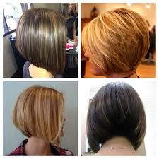 rear view of graduated bob hairstyle hairstyles ideas
