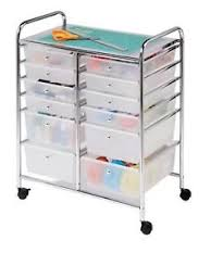 Rolling Storage Cabinet Rolling Storage Bins Cart Boxes Clear Cabinet Organizer Clear