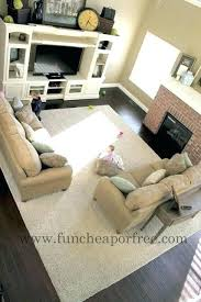 Big Area Rugs Cheap How Big Area Rug For Living Room Architecture Beautiful Ideas