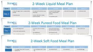 post op gastric sleeve diet liquid pureed u0026 soft food plans