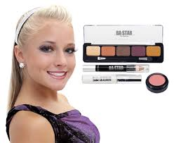 makeup classes in baton spicy with purple cheer makeup kit ba