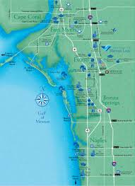 Miromar Outlet Map Locate Miromar Lakes Florida Just North Of Naples And Estero In