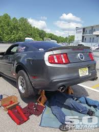 2000 mustang gt rear end drag suspension test trackside traction 5 0 mustang