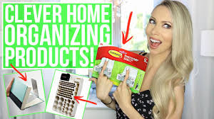 Home Organization Products by 12 Clever Home Organization Products You Need Youtube