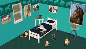 chambre fille cheval chambre pour fille ou petit garçons sur les chevaux
