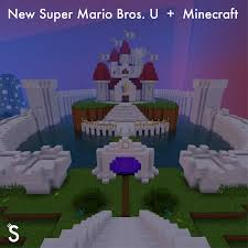 Super Mario World Map by New Super Mario Bros U Minecraft Maps Mapping And Modding