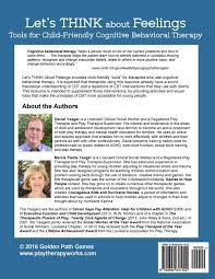let u0027s think about feelings tools for child friendly cbt marcie