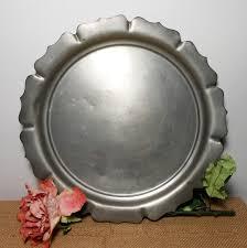 pewter serving platter 81 best vintage trays images on serving trays